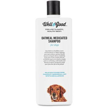 Well & Good Oatmeal Medicated Dog Shampoo, 16 fl. Oz.