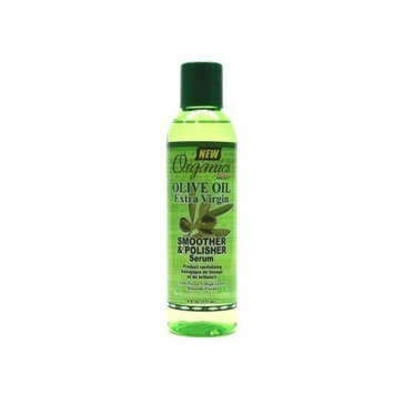 Africa's Best Organics Olive Oil Extra Virgin Smooth & Polish Serum 6 oz. (3-Pack) with Free Nail File
