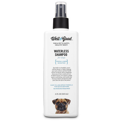 Well & Good Waterless Shampoo Dog Spray Spray, 8 fl. Oz.