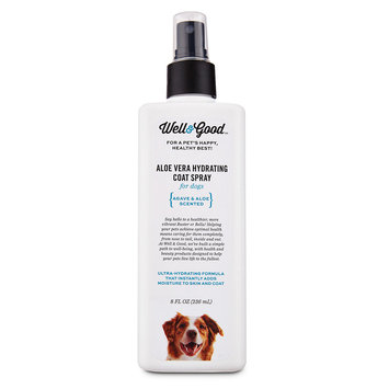 Well & Good Aloe Vera Hydrating Coat Dog Spray, 8 fl. oz.