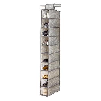 Laura Ashley® Non-Woven 10-Shelf Shoe Organizer