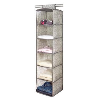 Laura Ashley® Non-Woven 6-Shelf Organizer