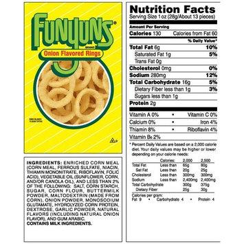 Funyuns Onion Flavored Rings, 2.38 oz