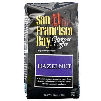 San Francisco Bay - Whole Bean Coffee - Hazelnut Flavor - 12 Ounce Bag