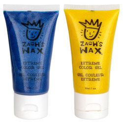 Zach's Wax Extreme Color Combo - Blue & Yellow 2 piece