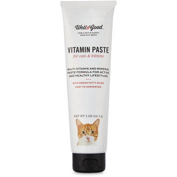 Well & Good Cat & Kitten Vitamin Gel, 5 oz.