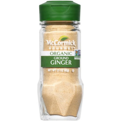 McCormick Gourmet Organic Ginger, Ground, 1.5 OZ