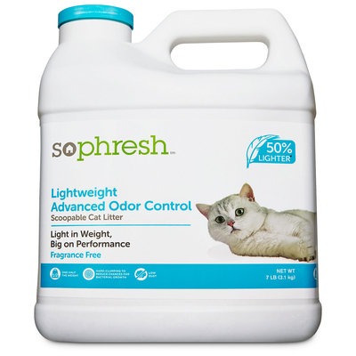 So Phresh Lightweight Odor Control Cat Litter, 7 lbs.
