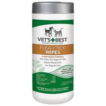 Vet's Best Flea + Tick Wipes