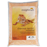 Imagitarium Orange Calcium Reptile Sand, 10lbs