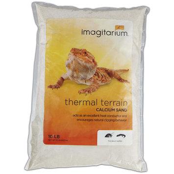 Imagitarium White Calcium Reptile Sand, 10lbs