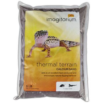 Imagitarium Brown Calcium Reptile Sand, 5lbs