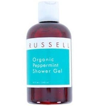 Russell Organics 5100 Peppermint Shower Gel by Russell Organics