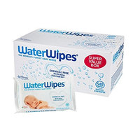 WaterWipes Sensitive Baby Wipes, Natural & Chemical-Free, 240 Sheets (Pack of 4)