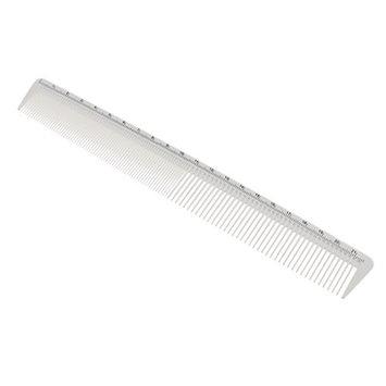Baoblaze Men Women Salon Resin Cutting Hair Tooth Comb Barber Hairdressing Pocket Hair Styling Design Tool - White