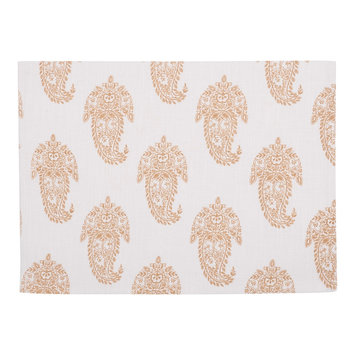 Kaf Linens Rani Paisley 4-pc. Placemat Set ()