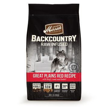 Merrick Pet Care Merrick Backcountry Grain-Free Great Plains Red 4 lb