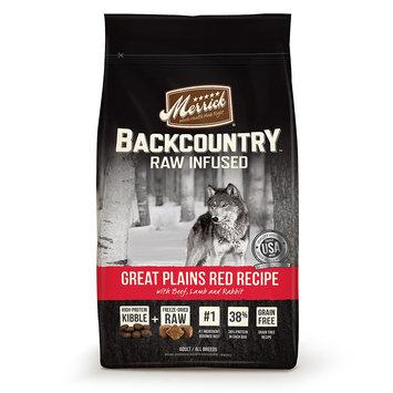 Merrick Pet Care Merrick Backcountry Grain-Free Great Plains Red 4 lb