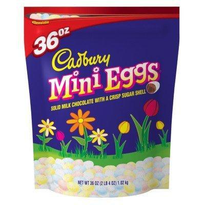 Cadbury Mini Eggs Solid Milk Chocolate with Crisp Sugar Shell
