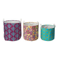 Elements Set of 3 Mediterranean Nesting Storage Baskets