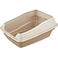 Sterilite Framed Cat Litter Pan, Camel