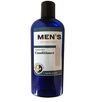 Organic Conditioner - Next generation Organics for strengthening hair. Powerpacked with Hydrolyzed Wheat Protein, Pro Vitamin B5, Organic White Willow Bark Extract - Mint 8.5 oz