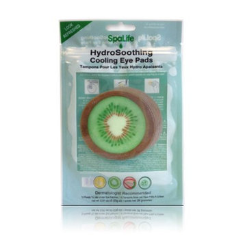 My Spa Life Hydro Soothing Cooling Eye Pads, Kiwi, 6 Ct