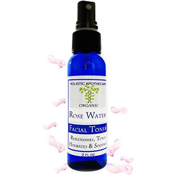 ORGANIC Rose Hydrosol ROSEWATER Provides Natural Hydration that Promotes a Youthful Complexion. ANTIAGE, REGENERATING, BALANCES, HYDRATES and REFINES PORES. With FINE MIST Spray Atomizer