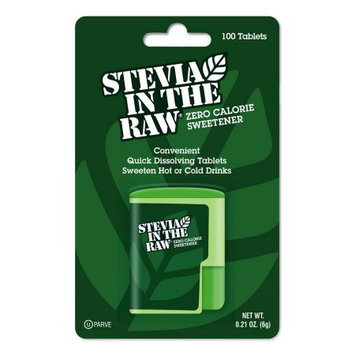 Stevia In The Raw All Natural Zero Calorie Sweetener, 100 CT (Pack of 2)