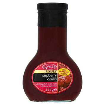 Rowse Luxury Raspberry Coulis (225g) - Pack of 2
