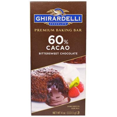 Ghirardelli Chocolate 60% Cacao Bittersweet Chocolate Premium Baking Bar