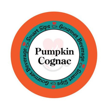 Smart Sips Coffee Pumpkin Cognac Flavored Coffee, 48 Count, Compatible With All Keurig K-cup Brewers