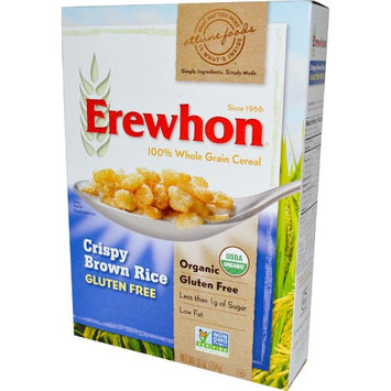 Erewhon, Crispy Brown Rice Cereal, Gluten Free, 10 oz (pack of 2)