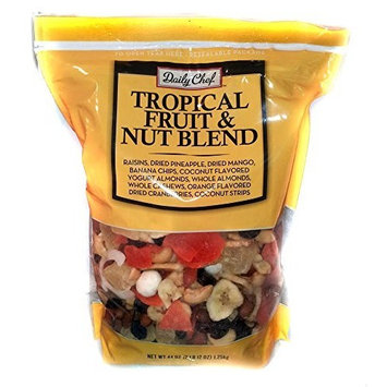 Daily Chef Tropical Fruit and Nut Blend, 44 Ounce