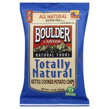 Boulder Canyon Natural Foods Potato Chips Totly Natrl 1.5 OZ (Pack of 36)