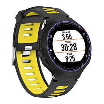 AutumnFall Garmin Forerunner Bands,Soft Silicone Strap Replacement Watch Band For Garmin Forerunner 230 / 235 / 220 Watch
