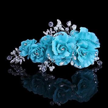 Exquisite Selebrity Wedding Bridal Rhinestone Flower Head Dress