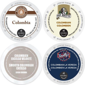 Faro Roasting Houses Colombia Coffee K-Cup Variety Pack Barista Prima, Van Houtte Colombian Medium, Faro Smooth Colombian & Timothy's La Vereda 96 ct