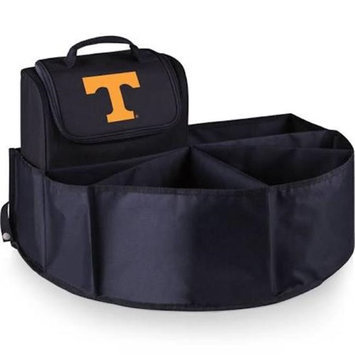 Picnic Time 715-00-179-554-0 University of Tennessee - Knoxville Digital Print Trunk Boss in Black with Cooler