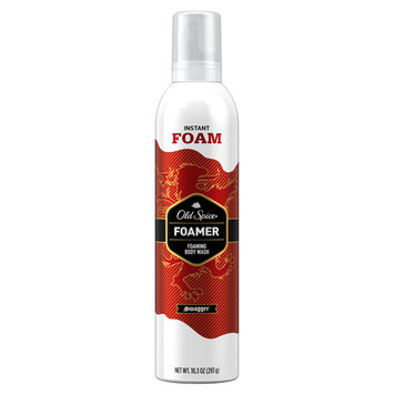 Spice Red Zone Swagger Scent Foamer Body Wash for Men, 10.3 oz
