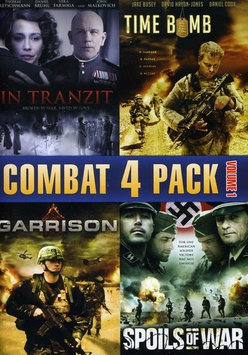 Phase 4 Films Combat 4 Pack, Vol. 1 - In Tranzit / Time Bomb / Spoils Of War / Garrison (Widescreen)