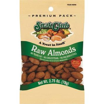 Snak Club Raw Almonds, 2.75 oz