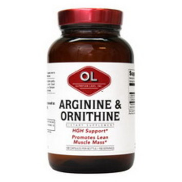Olympian Labs Arginine and Ornithine Capsules, 100CT