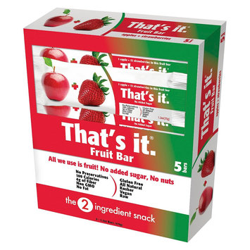 That's It Nutrition, Llc 6 Ounce That's it. Strawberry Energy Bars And Gels