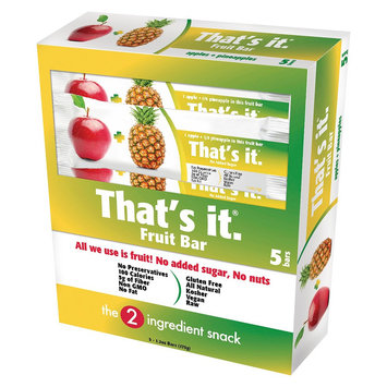 That's It Nutrition, Llc 6 Ounce That's it. Pineapple Energy Bars And Gels
