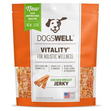Dogswell Vitality Jerky Chicken Breast Treats 9lb (6 x 24oz)
