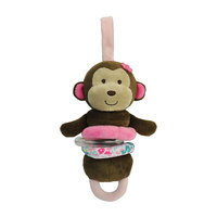 Carter's Monkey Plush Activity Toy (Brown)