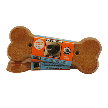 Wet Noses Pumpkin Bone Dog Treat, 2oz