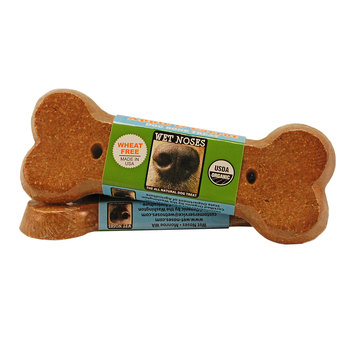 Wet Noses Apple & Carrot Bone Dog Treat, 2oz