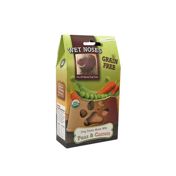 Wet Noses Grain Free Peas & Carrots Dog Treats, 1.5oz